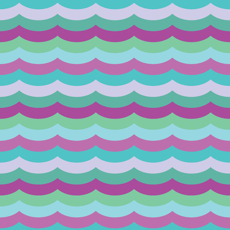 Vector Purple Cool Waves Seamless Pattern Background. Perfect for fabric, scrapbooking, kids, stationary, and home decor projects.