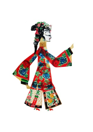 nonphysical: China shadow puppet filmmaker