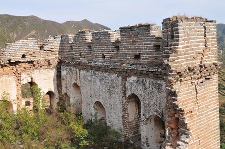 Wreck of the ancient Great Wall Stock Photo - 12093050