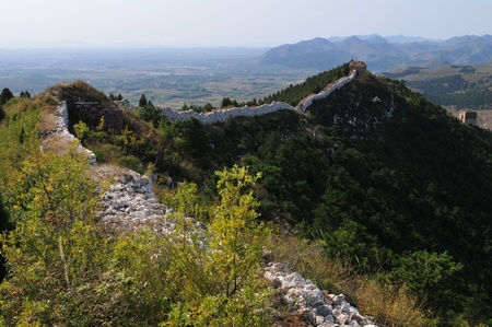 Wreck of the ancient Great Wall Stock Photo - 12390126