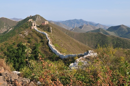 Wreck of the ancient Great Wall Stock Photo - 12390127