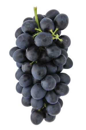 Druiven op witte achtergrond