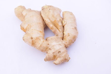 Ginger refers to the roots of plants of the genus ginger  Of temperature, its unique  gingerol  can stimulate the gastrointestinal mucous membrane, make the gastrointestinal tract congestion, digestive ability strengthens, can effective therapy to eat too Banco de Imagens