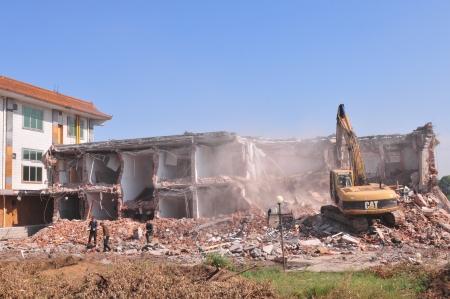 demolition  Stock Photo - 17554674