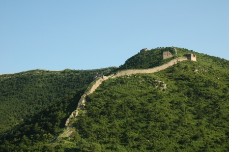 Ancient Great Wall in China Stock Photo - 18332591