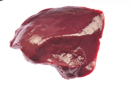 crus: The fresh raw liver