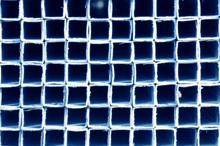 Rectangular metal construction photo