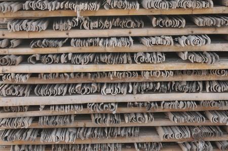arrangment: arrangment of old bamboo