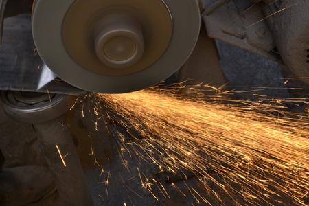 smelting: Smelting industry sparks