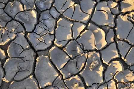 Climate warming dry chapped land photo
