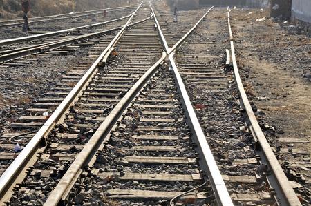 Railway track photo