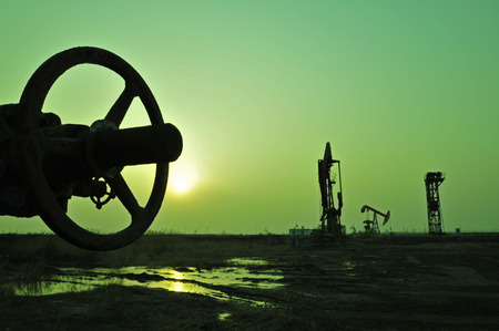 Olie booreiland, Tanghai provincie Hebei provincie olievelden in China