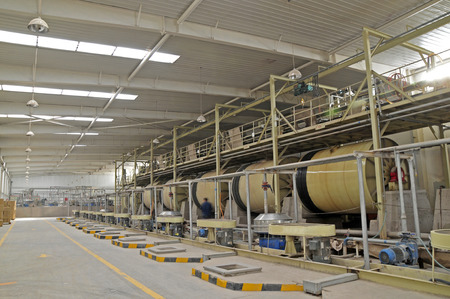 extrusion: Ceramic factory equipment