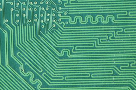 macro: Macro filming a circuit board