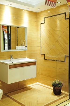 no heels: modern bathroom Editorial