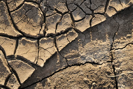 Dry chapped land