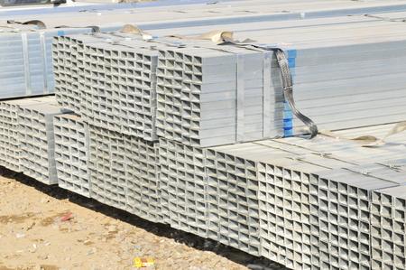 joist: Rectangular metal construction Stock Photo