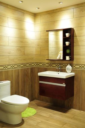 rain shower: toilet and bathroom with rain shower head