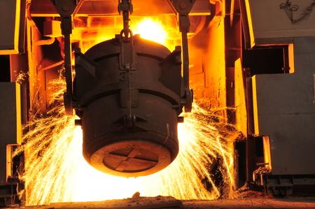 smelting: Metal smelting casting Editorial