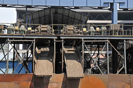 petrochemicals: Steel mill facilities