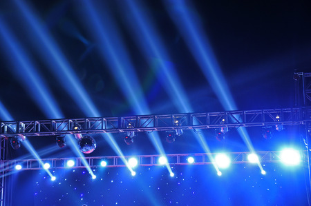 lighting effect: Stage lighting effect  Stock Photo