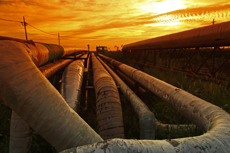 Oil pipeline, the oil industry equipment