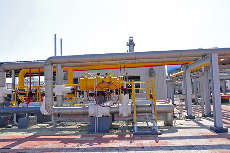 gas industry: The pipe and valve oil fields