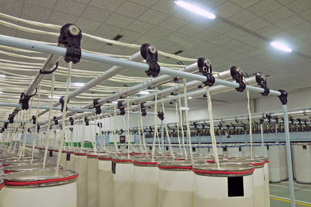 production line factory: Cotton group in spinning production line factory