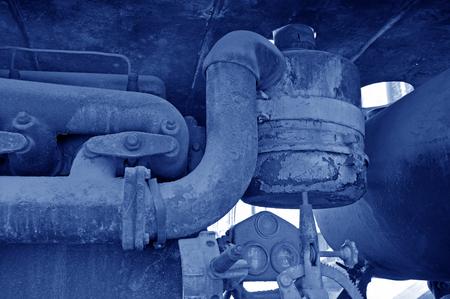 A rusty old machine, generators