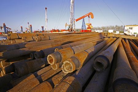 intermediate: Oil drill pipe Editorial