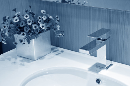 modern bathroom: modern bathroom Stock Photo