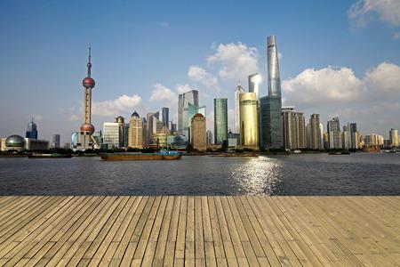 The Oriental pearl tower, Shanghai world financial center jinmao tower and the Shanghai skyline Reklamní fotografie
