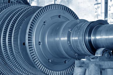turbina de vapor: El taller turbina de vapor industrial