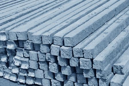 cement pole: cement