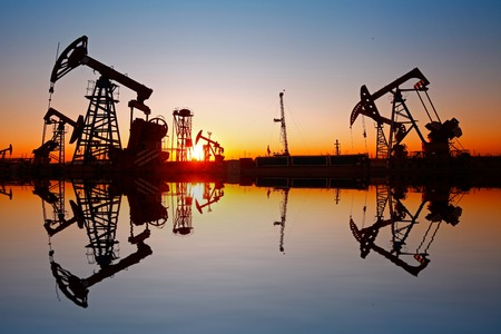 natural gas: Oil pump, oil industry equipment
