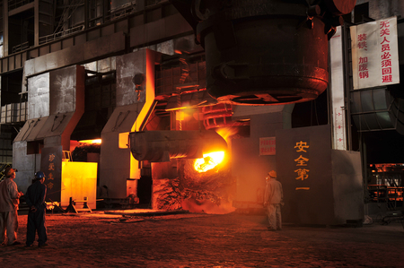 crucible: Metal smelting casting Editorial