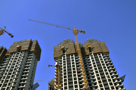 multifamily: The construction of buildings under construction