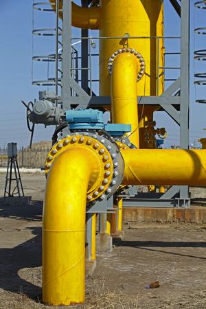 temperature controller: Oil pipeline