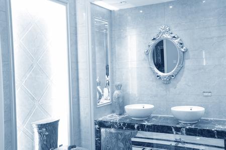 modern bathroom: modern bathroom Editorial