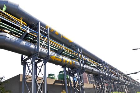 gas industry: Pipeline valve facilities in steel mills