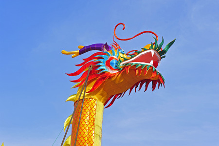 The Chinese dragon lantern
