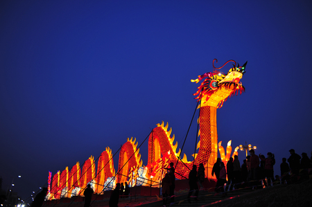 dragonboat: The Chinese dragon lantern