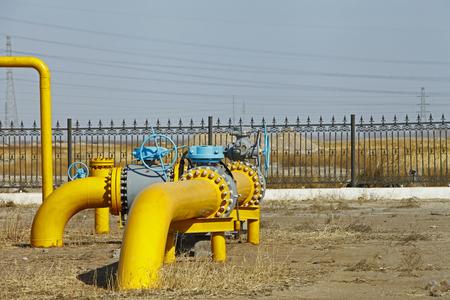 traffic controller: Oil pipeline