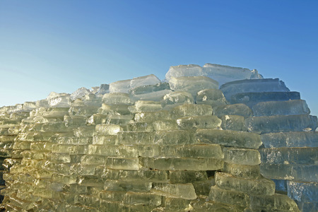 ices: stack of ices