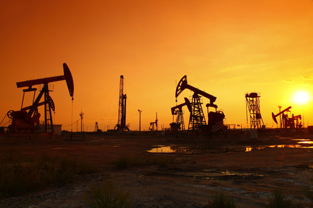 Oil pump, oil industry equipment
