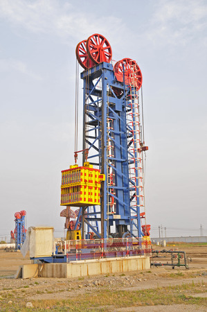 connectors: Oil field drilling rig, jidong oilfield in China