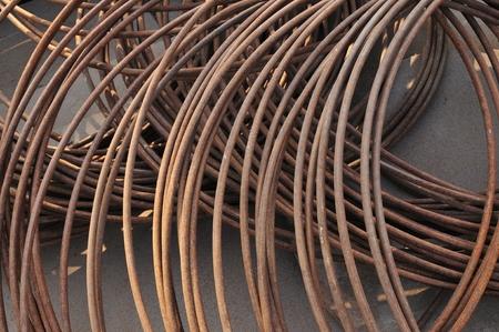 bobina: bobina de alambre textura