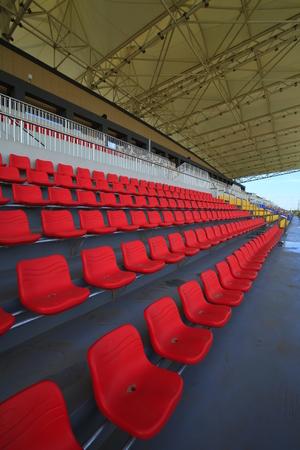 identical: The stadium seats Editorial