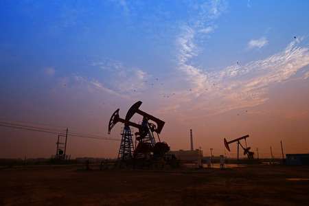 oilwell: The oil pump, industrial equipment