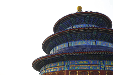 The ancient temple of heaven in Beijing, China